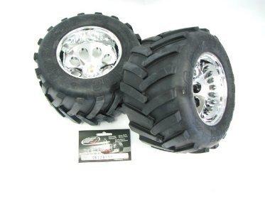 6227 07 fg hard monster truck tires glued. Black Bedroom Furniture Sets. Home Design Ideas