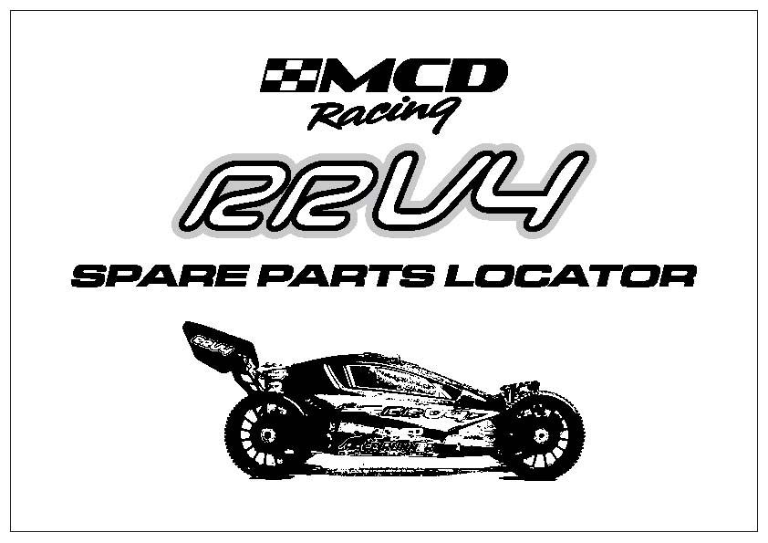001300v4 Mcd Race Runner V4 Competition 26cc Motor