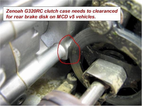 32cc Zenoah 3 5 hp G320RC Motor With Clutch (4 bolt head