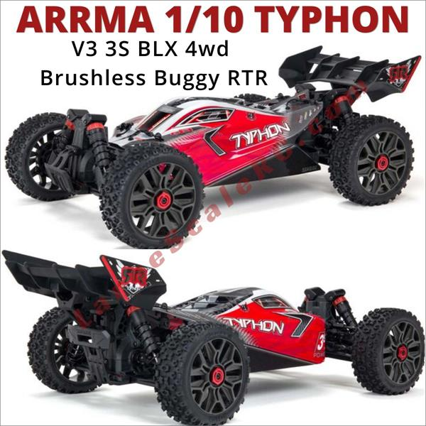 DIFFERENTIAL front//rear 37t TYPHON typhon ARA4306V3 Arrma TYPHON 4x4 3s BLX