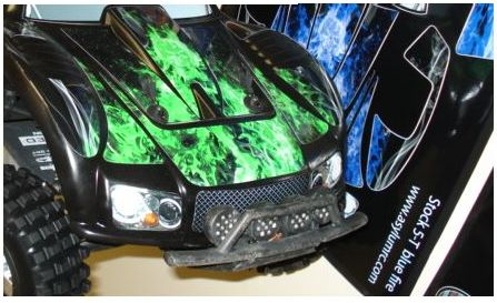 Asylum RC Body Decal Kit for HPI Baja 5T (Stock and Trofeo