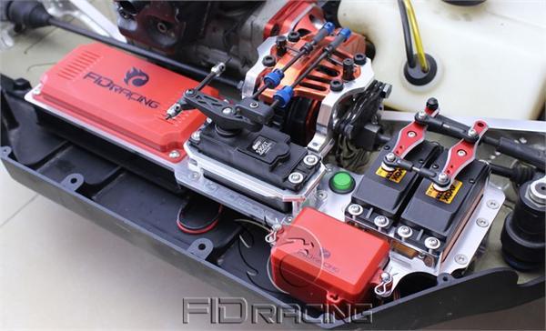 Fast Lane Motors >> 035 - Dual Radio Servo Tray For Losi 5ive-T By GTB Racing